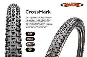 ยางนอก Maxxis Crossmark 27.5 X 1.95 ขอบพับ