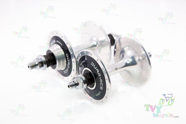 Front Hub, Rear Fixedgear Bearing 32 Hole Shimano Dura-ace (Silver)